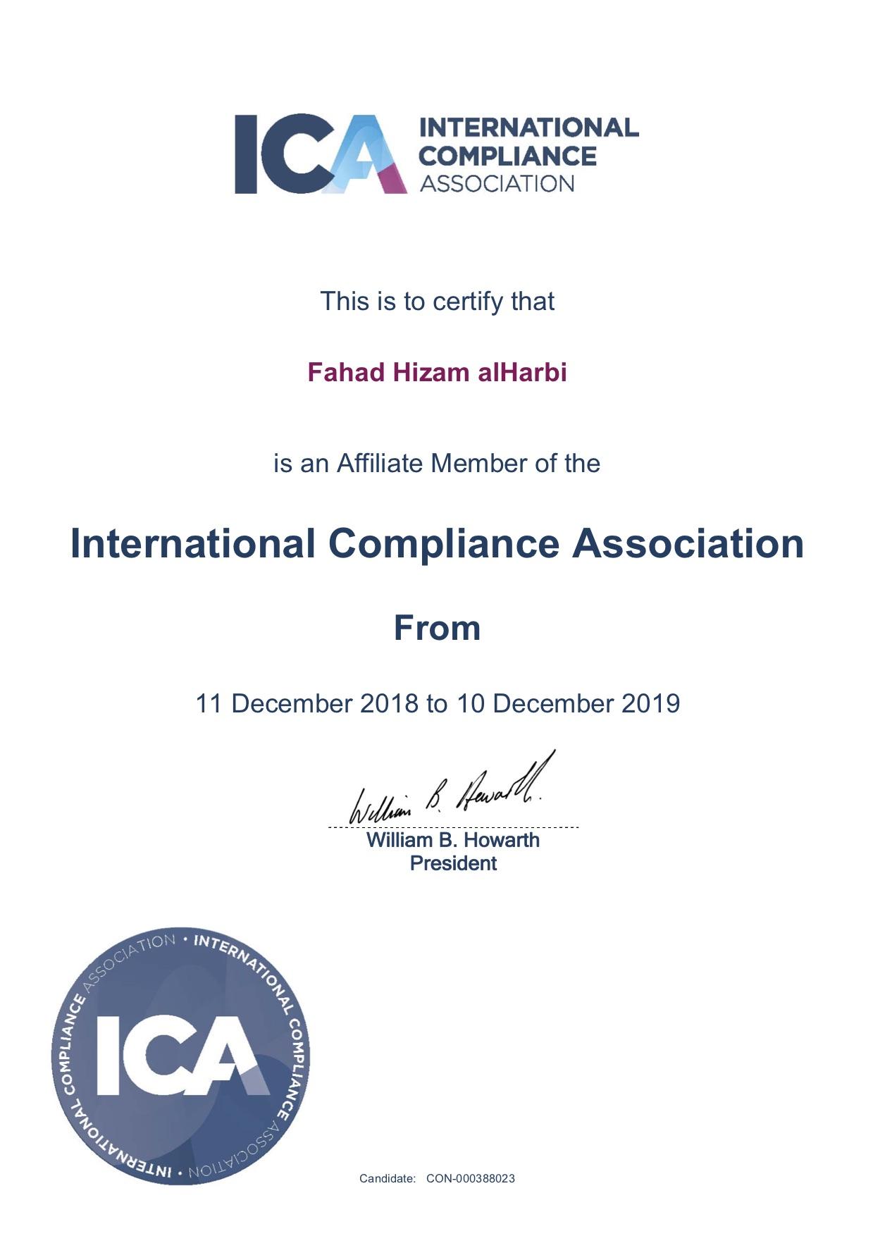 ICA Membership