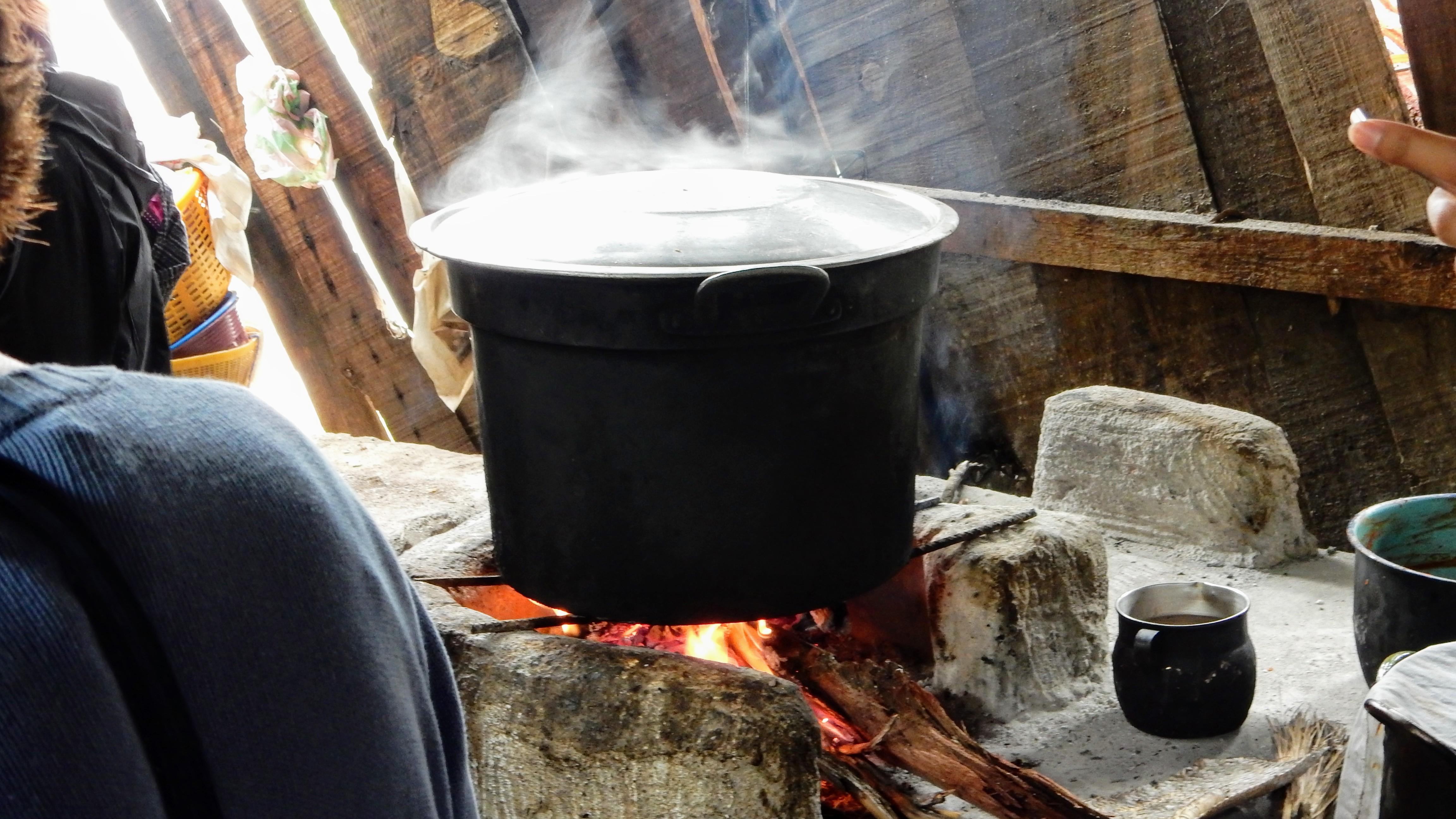 Tamales Making