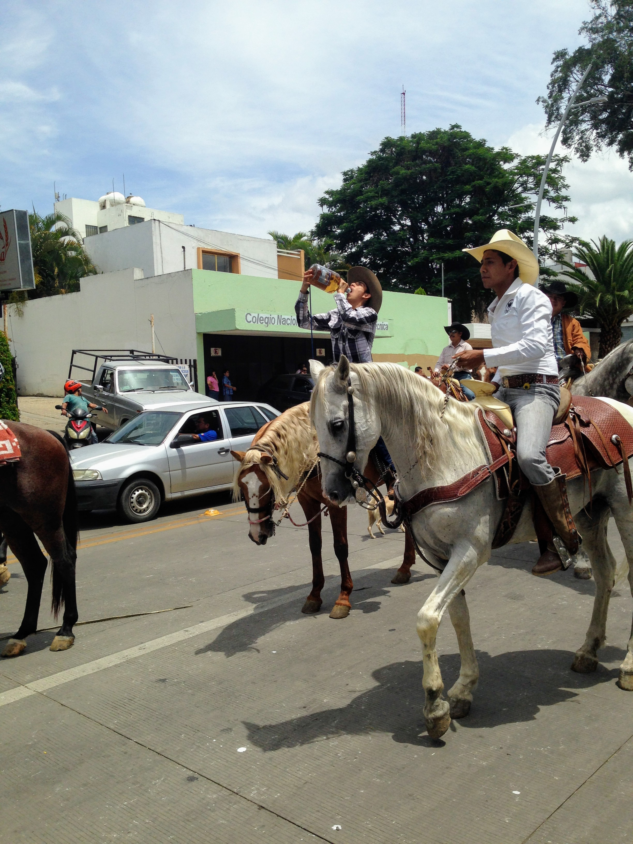 Cowboys and Girls Parade, Calzada Porfirio Díaz, Reforma