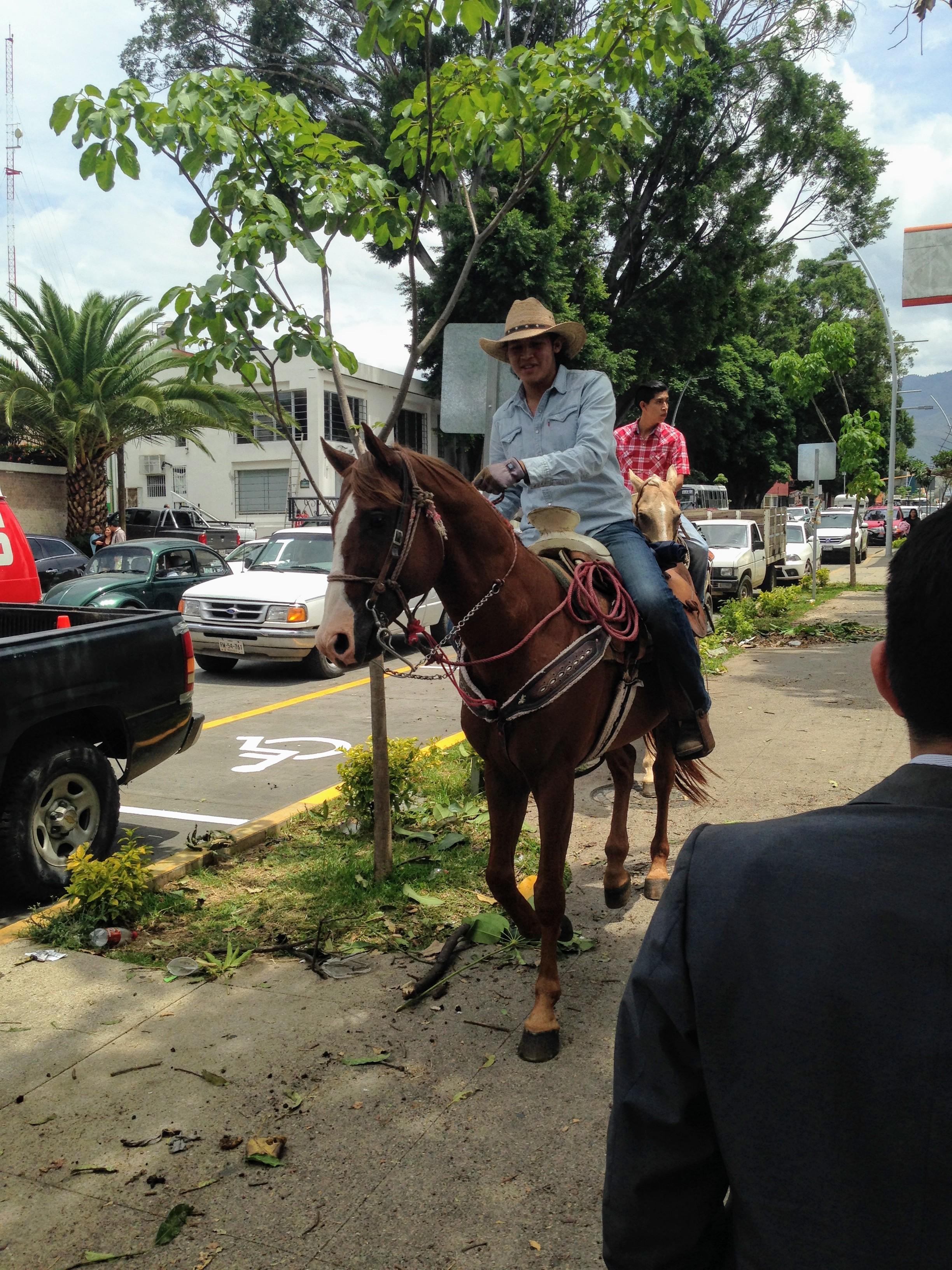 Cowboys and Girls Parade, Calzada Porfirio Díaz, Reforma