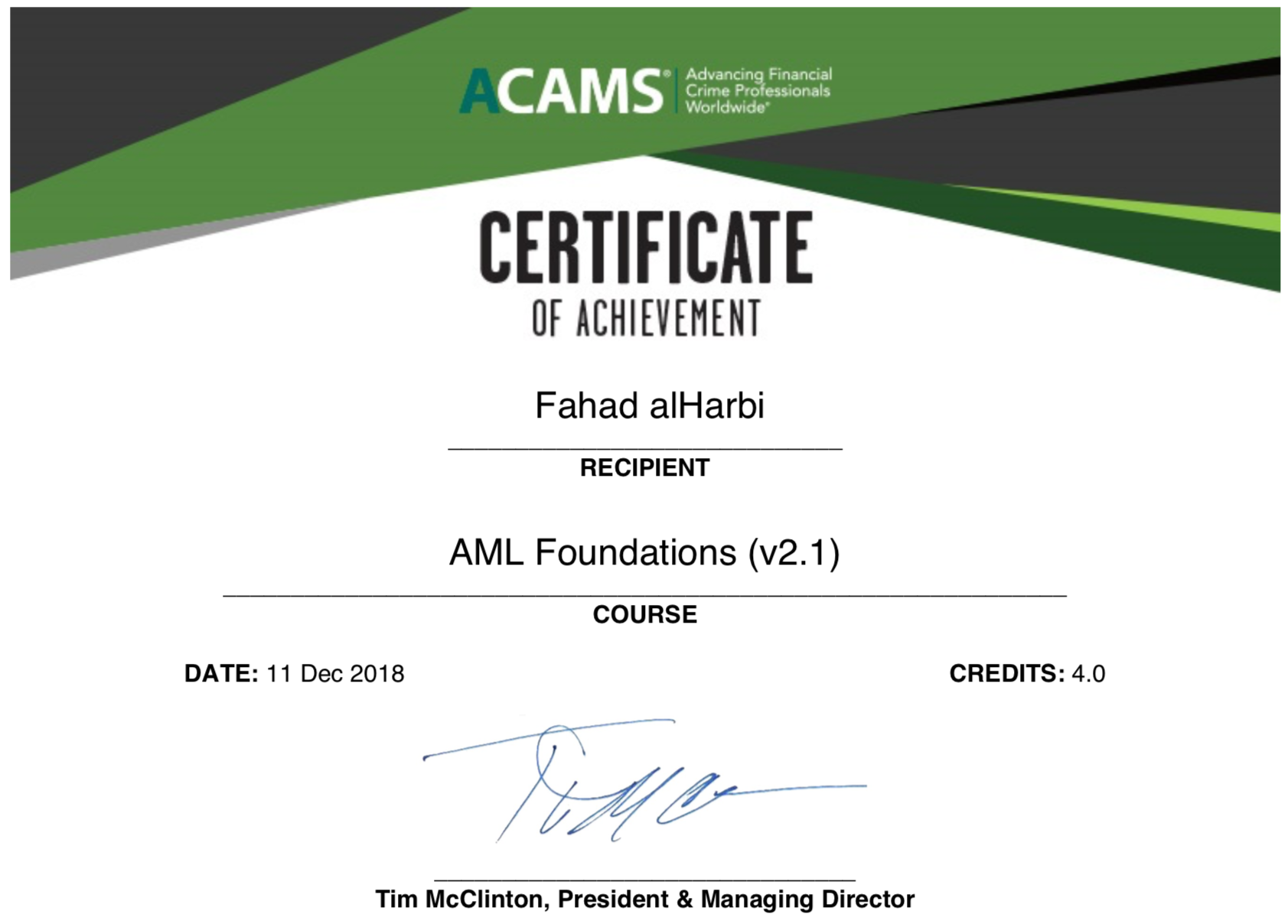 How Can The Acams Anti Money Laundering Foundations