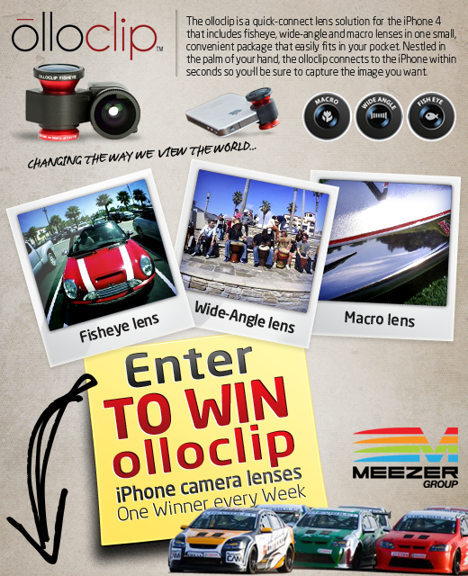 Meezer.com is Giving Away olloclip™ Camera Lens for the iPhone®
