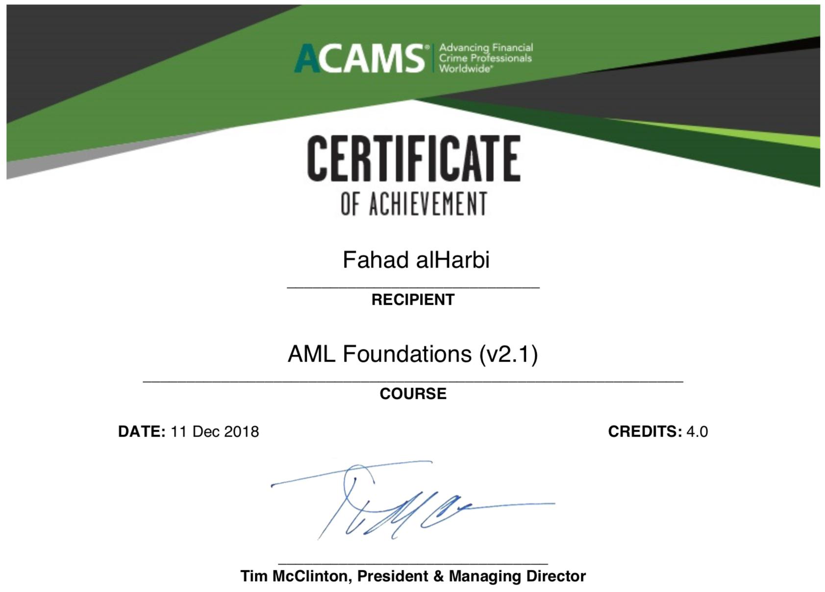 Certificación Profesional